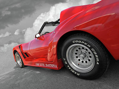 Photograph - Corvette Daytona by Gill Billington