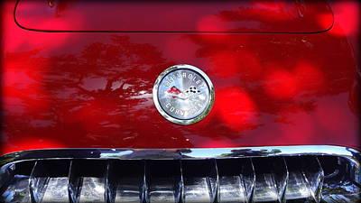 Photograph - Corvette by Donna Spadola