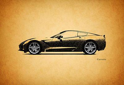 Stingray Photograph - Corvette by Mark Rogan