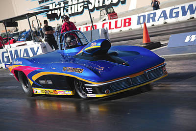 Photograph - Corvette Pro Mod by Richard J Cassato