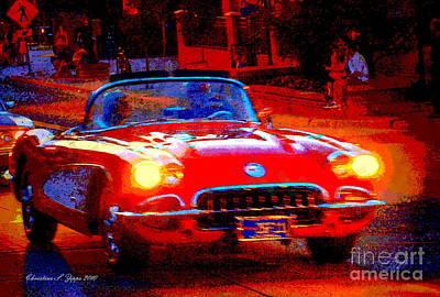 Photograph - Corvette Proud by Christine S Zipps