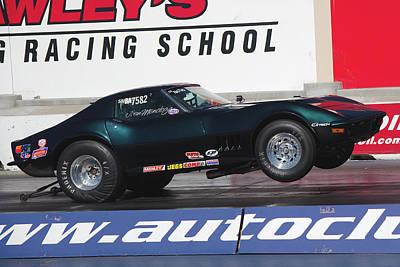 Photograph - Corvette by Richard J Cassato