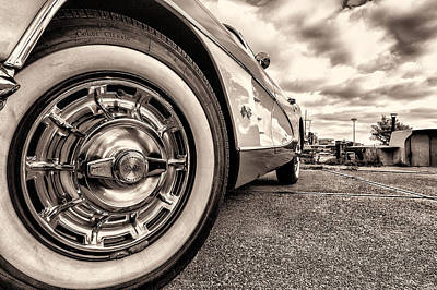 Photograph - Corvette Rim by Wim Slootweg
