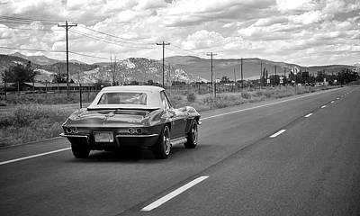 Photograph - Corvette Road Trip by Mary Lee Dereske