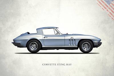 C2 Photograph - Corvette Stingray 1966 by Mark Rogan