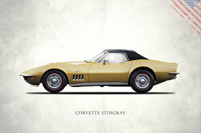 C2 Photograph - Corvette Stingray 1969 by Mark Rogan
