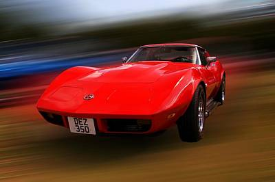 Photograph - Corvette Stingray by Chris Day