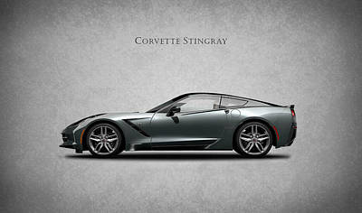 Corvette Stingray Coupe Art Print by Mark Rogan