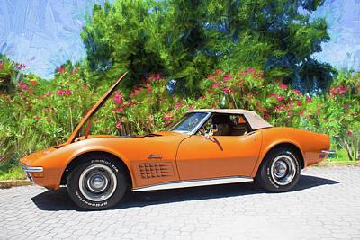 Photograph - Corvette Stingray Series 02 by Carlos Diaz
