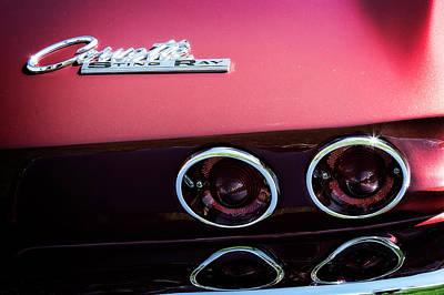 Photograph - Corvette Tail by Scott Kemper