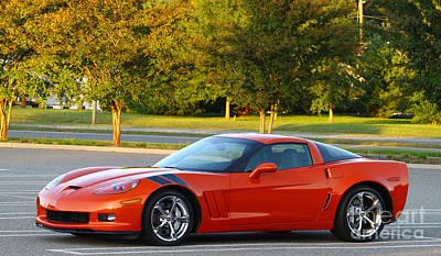 Corvette Z06 Original by Barry  Blackburn