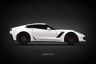 Corvettes Photograph - Corvette Z06 by Mark Rogan