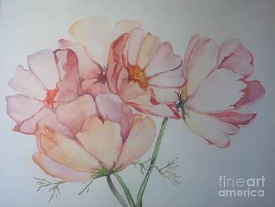 Painting - Cosmea by Iya Carson