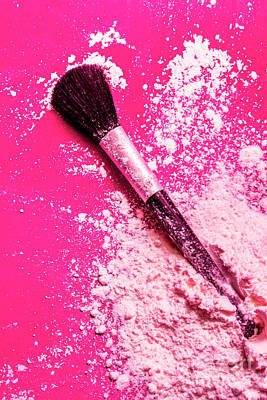 Photograph - Cosmetics Powder Fine Art Still Life by Jorgo Photography - Wall Art Gallery