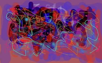 Digital Art - Cosmic Beast by Maxim Komissarchik