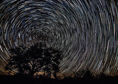 Unique Photograph - Cosmic Campground by Gary Migues