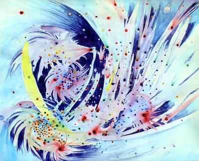 Painting - Cosmic Candy by Steve Karol