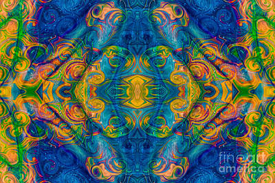 Painting - Cosmic Consciousness Abstract Design Art By Omaste Witkowski  by Omaste Witkowski