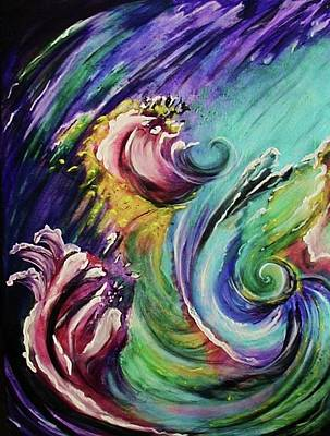 Otherworldly Painting - Cosmic Creation Genesis by Diana Dearen