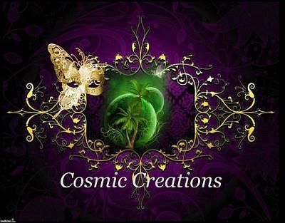 Digital Art - Cosmic Creations by Ali Oppy