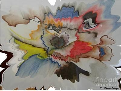 Cosmic Dance Art Print