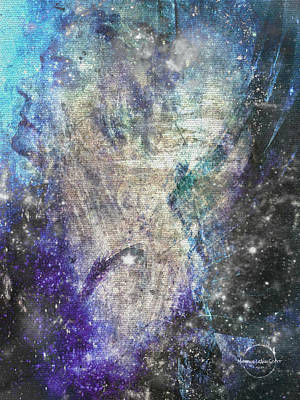 Digital Art - Cosmic Enlightenment by Absinthe Art By Michelle LeAnn Scott