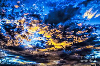 Photograph - Cosmic Explotion by Rick Bragan