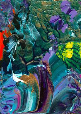 Cosmic Feathered Webbed Universe Art Print