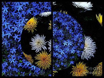 Photograph - Cosmic Florals by Joan-Violet Stretch