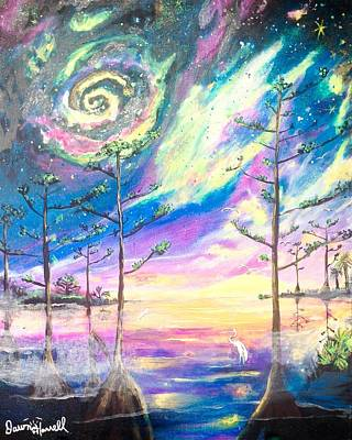 Painting - Cosmic Florida by Dawn Harrell