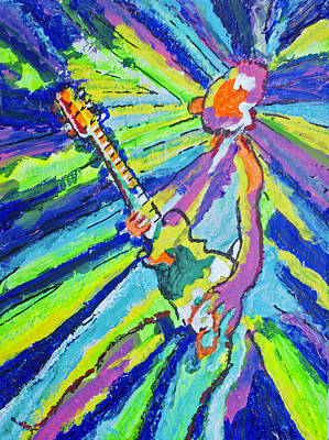 Cosmic Guitar Original by Richard Wynne