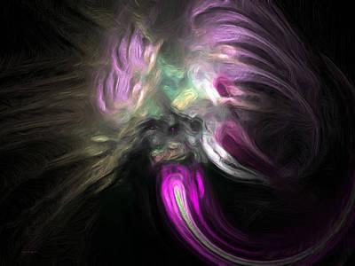 Cosmic Intervention Art Print by Wayne Bonney