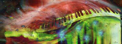 Photograph - Cosmic Keys by Linda Sannuti