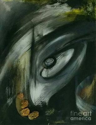 Macrocosm Painting - Cosmic Membranes by Despoina Ntarda