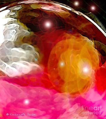 Cosmic Nebulae Original by Em'Art