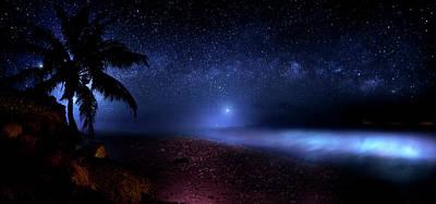 Beauty Mark Photograph - Cosmic Ocean by Mark Andrew Thomas