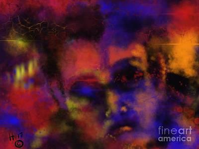 Digital Art - Cosmic Punk by Hans Magden