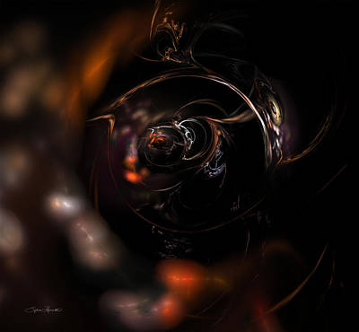 Digital Art - Cosmic Sphere by Sylvia Thornton