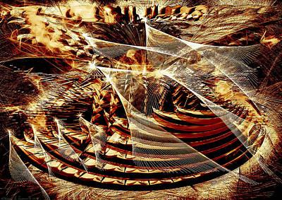 Digital Art - Cosmic Stage by ThomasE Jensen