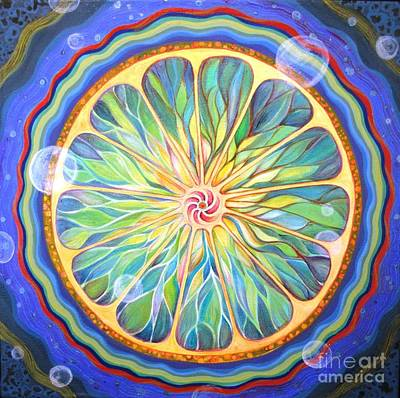 Cosmic Twist Art Print by Kelly Price