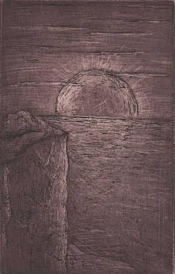 Drawing - Cosmic View  by Erik Paul