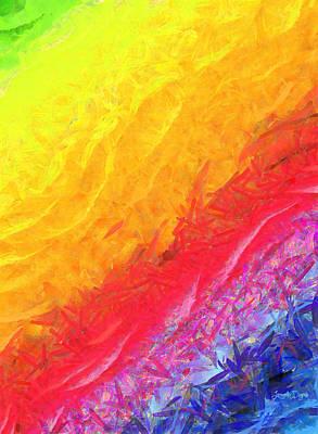 Cosmic Waves - Pa Art Print