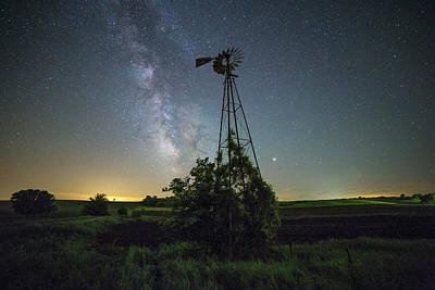 Photograph - Cosmic Wind by Aaron J Groen