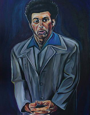 Seinfeld Painting - Cosmo by Kate Fortin