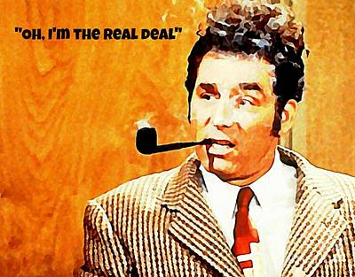 Fall Animals - Cosmo Kramer The Real Deal by John Malone