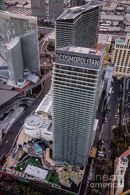 Cosmopolitan Hotel, Las Vegas Art Print