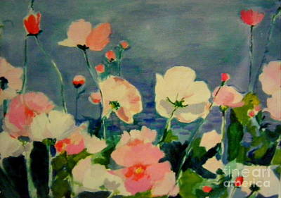 Painting - Cosmos Closer by Nancy Kane Chapman