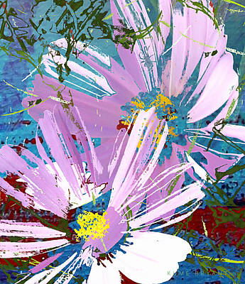 Annual Mixed Media - Cosmos Imprint by Kume Bryant