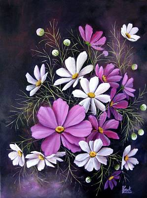 Painting - Cosmos by Katia Aho