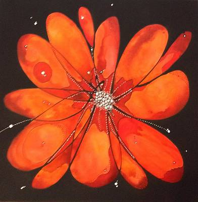 Painting - Cosmos by Pat Purdy